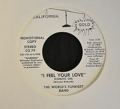The Worlds Funkiest Band California Gold 79 I Feel Your Love