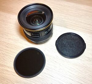 Tokina 20-35 f3.5-4.5 & 72mm 8 Stop ND Filter