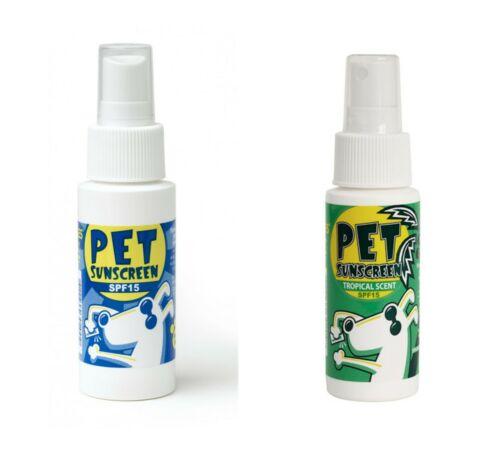 DOGGLES SUNSCREEN FOR PETS SPF 15 REGULAR OR TROPICAL 2 oz NON TOXIC