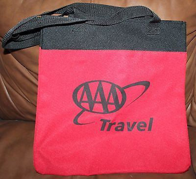 Red Aaa Travel Tote Bag