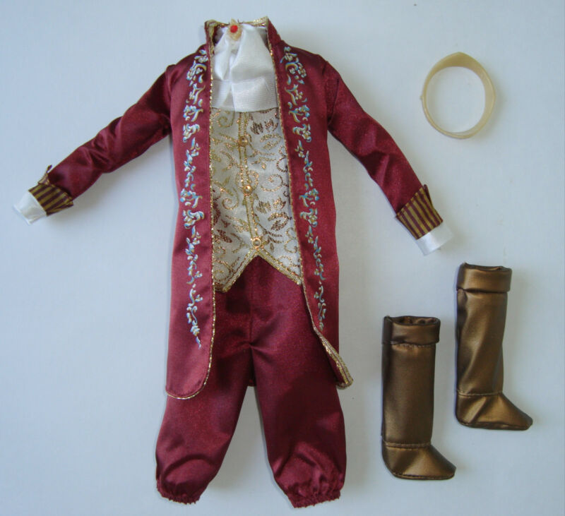 BARBIE/ KEN Doll Clothes/Fashion Prince/King Garment Set VERY NICE! NEW!