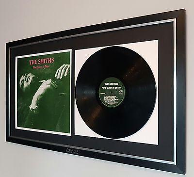 The Smiths-The Queen Is Dead-Framed Original Vinyl Album-Morrisey
