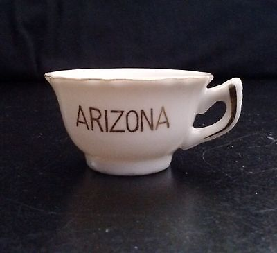 Mini Tea Cup Arizona Ceramic  2 W x 1 H