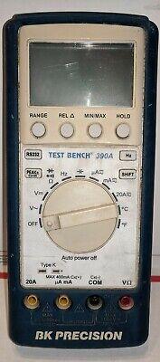Bk Precision 390a Test Bench Digital Multimeter1000v10a