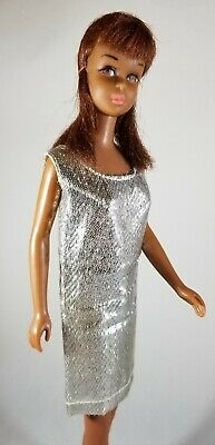 Barbie Japanese Exclusive doll silver lame dress rare JE