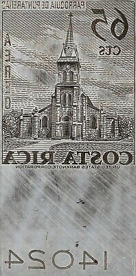 American Bank Note Company: Costa Rica Printing Plate C-462 (Airmail)
