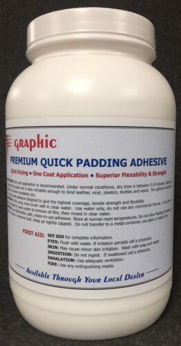 PADDING COMPOUND ADHESIVE WHITE PREMIUM ONE COAT QUICK DRYING NEW 1 GALLON