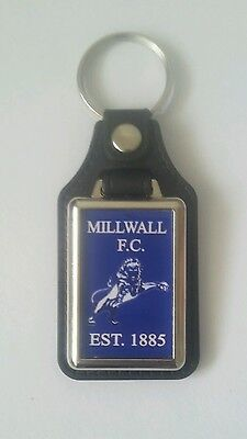 Millwall F.C. quality leather fob keyrings  set of 5 .