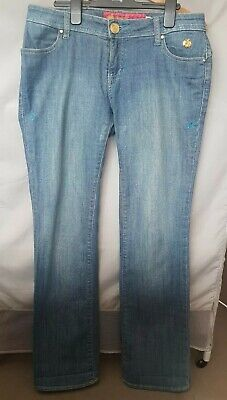 Womens Light Blue Apple Bottom Jeans Size US 7/8 (UK 12)