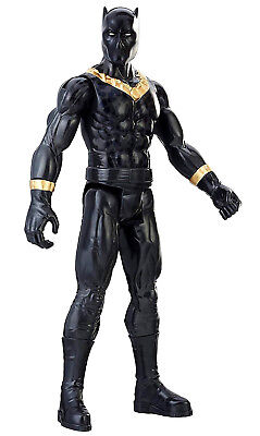 "Big Black Panther Titan Hero Series Action Figure Toy Marvel Large 12""  For Kids"
