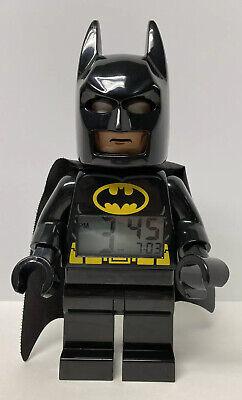 LEGO Batman Digital Alarm Clock 10.5 in. Poseable DC Comics Super Heroes
