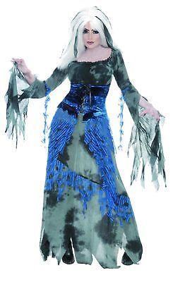 Damen Halloween Kostüm Sinful Wahrsager Hexe Outfit (Halloween Damen Outfits)