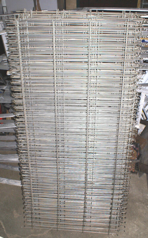 "STAINLESS STEEL Wire Grid Shelves Oven Rack Pallet Decking 78"" x 38"""