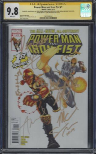 Power Man and Iron Fist #1__CGC 9.8 SS__Signed by cast of Luke Cage - Netflix