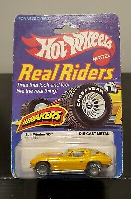 1982 Hot Wheels Real Riders HiRakers Split Window '63, No. 4354 - New In Package