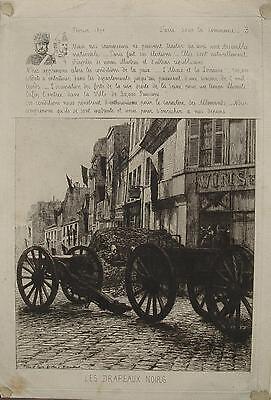 Les drapeaux noirs Deutsch-französischer Krieg 1870-1871 Paris Elsaß Lothringen