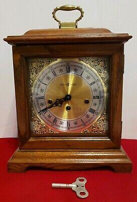 Howard Miller 612-437 Graham Bracket - Chiming Mantle Clock +Key