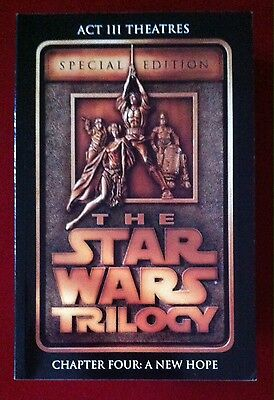 Star Wars Special Commemorative Edition Act III Theaters TPB - DHC - Rare
