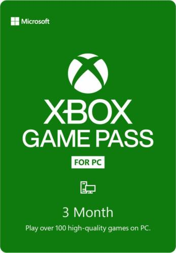 XBOX GAME PASS FOR PC 3 MONTHS CODE