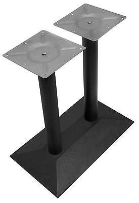 """Doppel Tischgestell Model """"Birgit"""" Untergestell Tischfuß Bistro Gastro Tisch Fuß"""