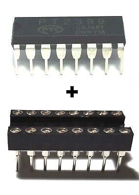 1pcs Ptc Pt2399 Echo Audio Processor Guitar Ic Dip-16 Dip Socket - New Ic
