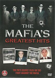 THE MAFIA'S GREATEST HITS - 6 DVD BOX SET - THE FBI'S SECRET FILES ON THE FIGHT
