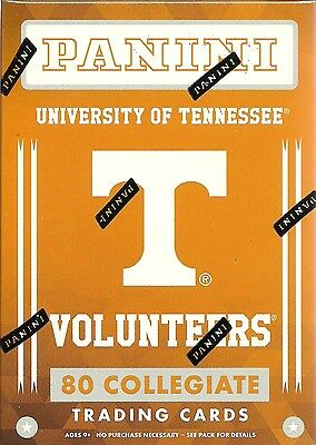 2016 Panini Univ. Of Tennessee Volunteers Multi-Sport Blaster Box Trading Cards