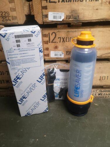 LIFESAVER 4000UF Water Purification Ultra Filtration Bottle Filter UK RRP£135