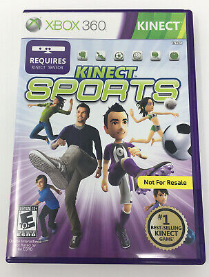 XBOX 360 KINECT SPORTS Complete with Manual Free Shipping, used for sale  Shipping to Nigeria