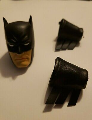DC Direct 13 inch figure/1:6 Batman head and Guantlets