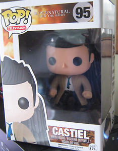 Funko Pop! #95 Supernatural Castiel with Wings *New in box