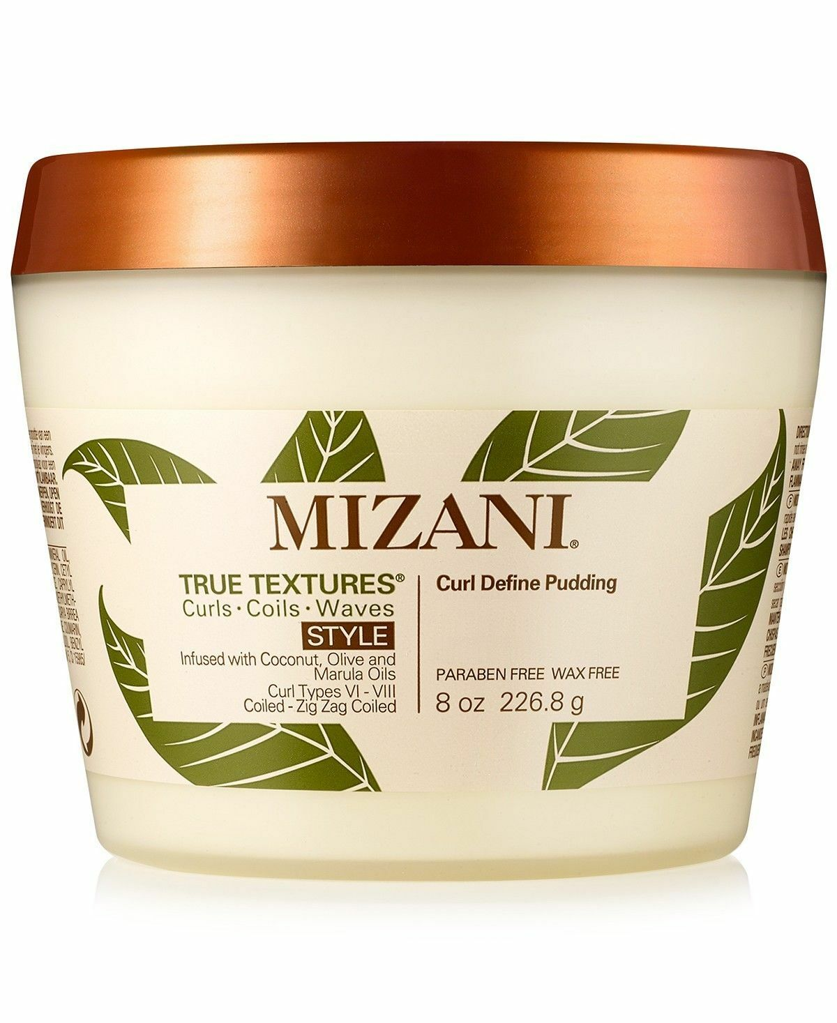 Mizani True Textures Curl Define Pudding 8oz Hair Care & Styling