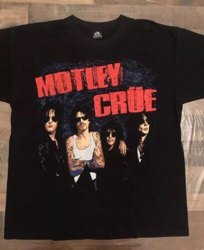 RARE MOTLEY CRUE 1994 MEXICO CONCERT SHIRT sixx kiss dead guns roses halen acdc