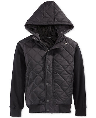 Ring of Fire Boys' Layered-Look Quilted Jacket