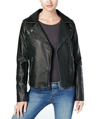 LUCKY BRAND Women's Moto Leather Jacket