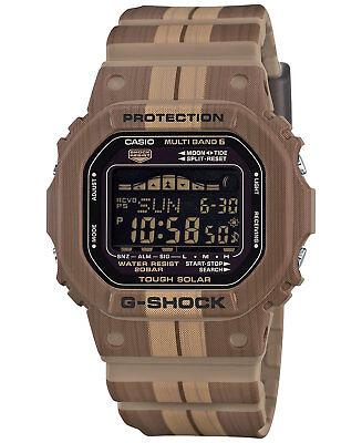 Casio G-Shock GWX5600WB-5 Tough Solar Multifunction Brown/Tan Resin 49mm Watch