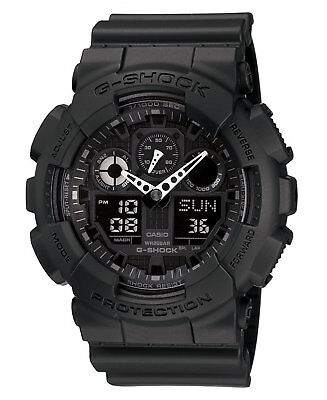 Casio G-Shock GA100-1A1 Wrist Watch-Black