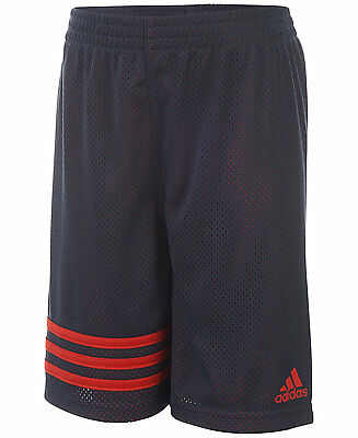 Adidas Little Boys Toddler Defender Impact Shorts Dark Gray Red NWT