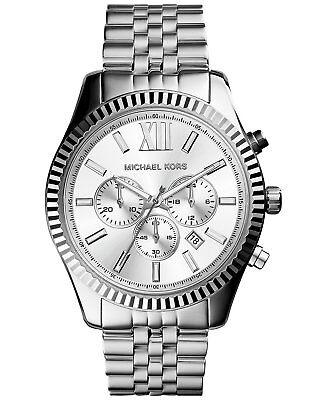 Michael Kors Men's Lexington Chronograph 100m Stainless Steel Watch MK8405