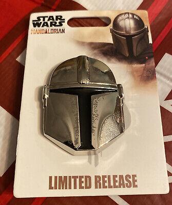 Star Wars The Mandalorian Helmet Limited Release 2019 Season 1 Disney Pin