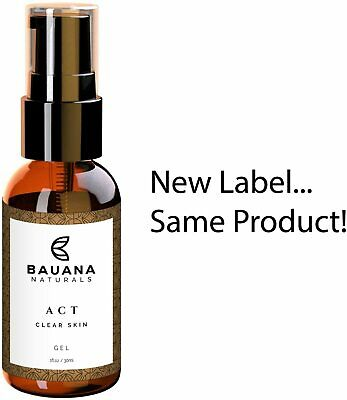 Bauana Naturals  ACT! Best Acne Spot Treatment Gel - 2% Salicylic Acid