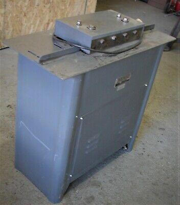 22 Ga. Sheet Metal Lockformer Pittsburgh Machine
