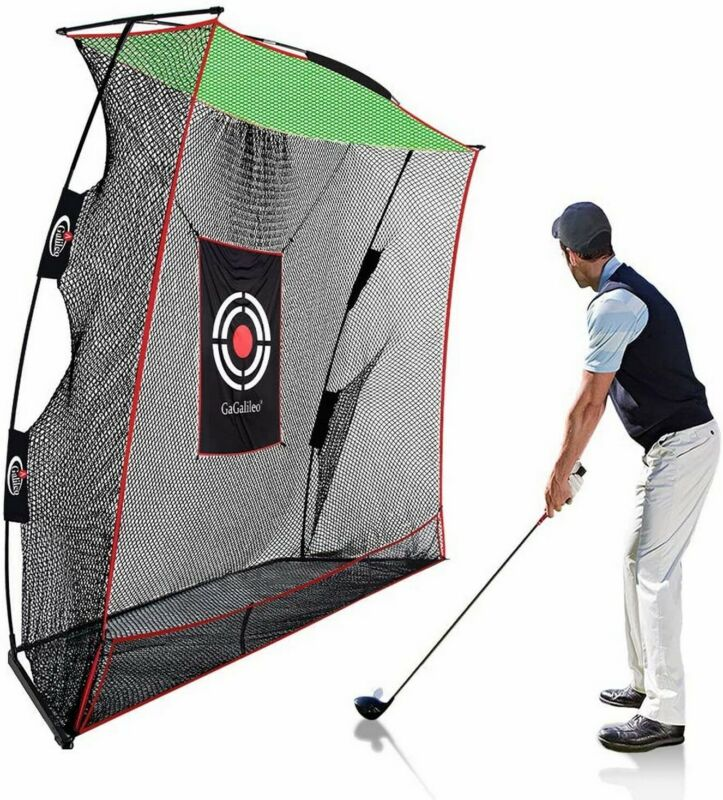 10 X 8FT GALILEO PRO Golf Hitting Net Practice Driving Training Aid With Bag