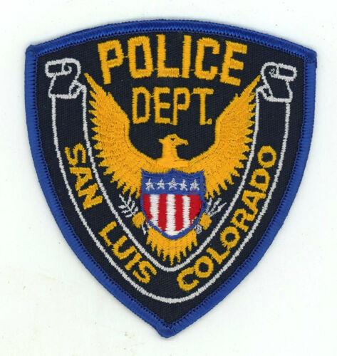 San Luis Police Department Colorado (cheesecloth)