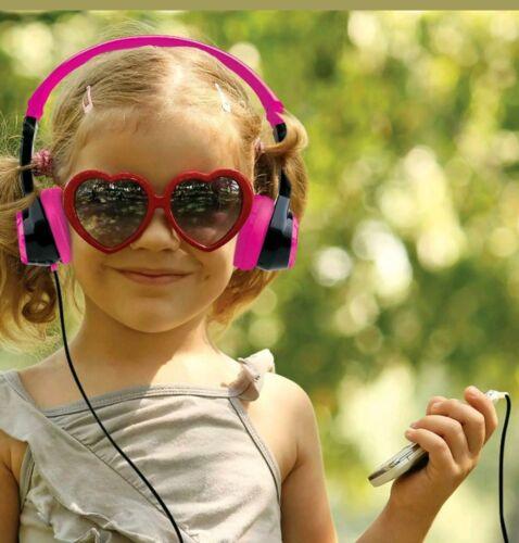 JLab, JBuddies Pink Kids, Folding, Volume Limiting Headphone
