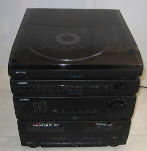 Vintage Turntable Record Player Amp Speakers AM/FM Tape System Melton Melton Area Preview