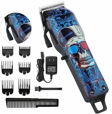 Kit de máquina cortadora de pelo eléctrica inalámbrica profesional podadora de pelo recargable