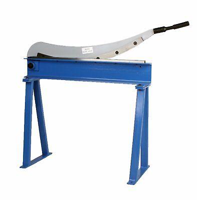 Manual Guillotine Shear 32 X 16 Gauge Sheet Metal Plate Cutting Cutter W Stand