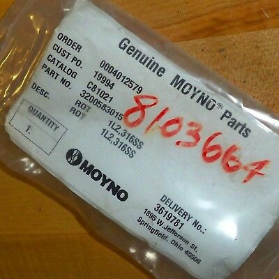 Moyno Industrial 316ss 1l2 Frame Screw Pump Rotor C81021 3200583015