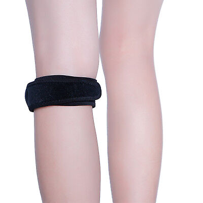 - Adjustable Silicone Knee Patellar Tendon Protection Support Strap, One Size
